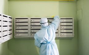 В Виннице усиливают контроль за проведением дезинфекции в подъездах