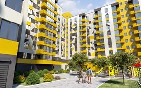 В ЖК «Хмельницкий» цена последних однокомнатных квартир 13 500 грн/м2