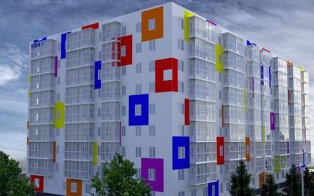 В ЖК «Воробьевы горы Family» монтируют балконы