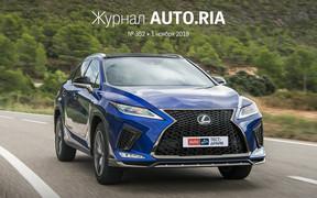 В журнале: Кому продлевают льготы, новый Toyota Yaris, тест-драйв Lexus RX, электромобили наступают и 12 самых популярных кроссоверов на AUTO.RIA.