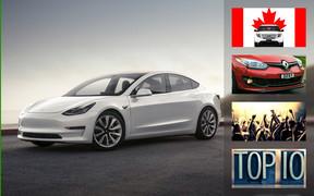 Важное за неделю: «день растаможки», о Tesla Model 3, ТОП-10 самых популярных авто в Украине и куда поехать по безвизу