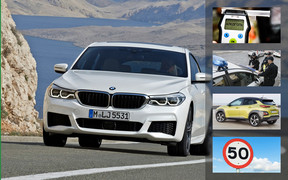 Важное за неделю: дорожная полиция, алкоголь и штрафы, «50» в городе, новые Hyundai Kona и BMW 6 серии GT