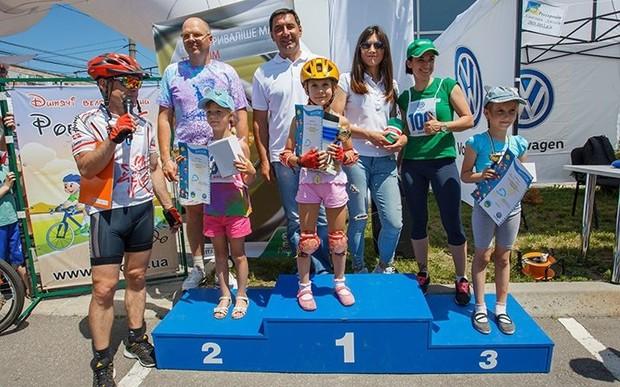 Велогонка до Дня захисту дітей