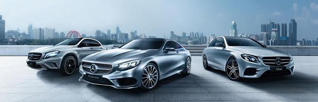 «Весеннее предложение на модельный ряд Mercedes-Benz.»
