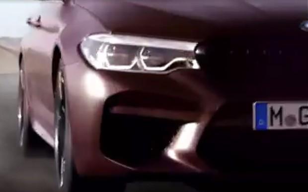 Видео: BMW M5 нового поколения дебютирует 21 августа