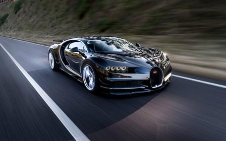 Видео: Bugatti Chiron разгоняется до 400 км\ч