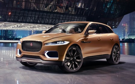 Видео: Кроссовер Jaguar F-Pace в деталях