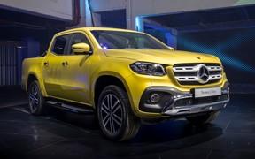 Видео: Mecedes-Benz представил новый X-Class. Почем?