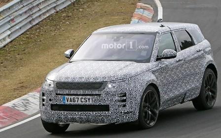 Видео: новый Range Rover Evoque уже на дорогах