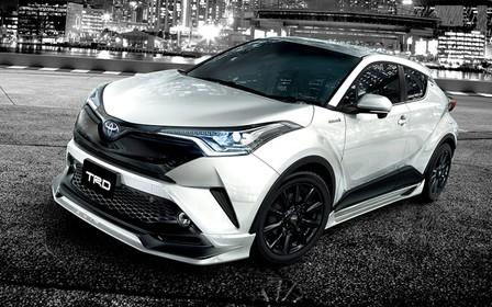 Видео: Новый Toyota C-HR получил свой первый тюнинг