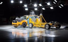 Видео: новый Volvo XC40 уже прошел краш-тест