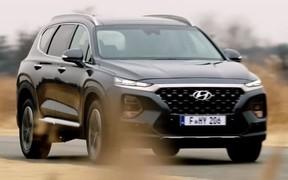 Видео: первые кадры нового Hyundai Santa Fe