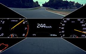 Видео: Секретная новинка Kia разогналась до 244 км/час на Нюрбургринге