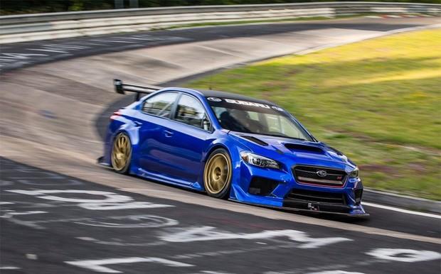 Видео: Subaru WRX STI установил рекорд Нюрбургринга