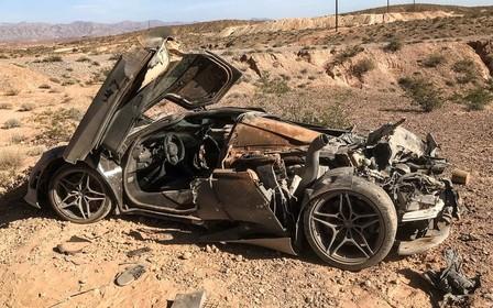 Видео: В американской пустыне обнаружили брошенный McLaren