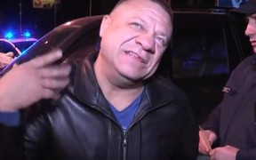 Видео: «Звезда Youtube» пьяным нарвался на полицию