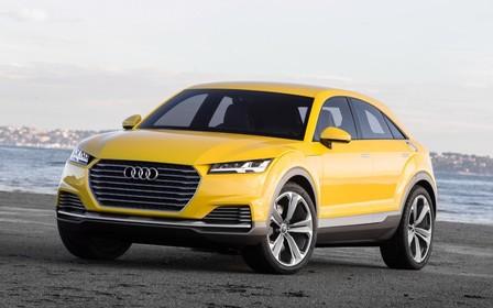 Вместо спорткупе - электро-кроссовер. Audi TT станет электрическим SUV