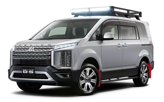 Внедорожный «вагон»: Mitsubishi покажет спецверсию Delica D:5