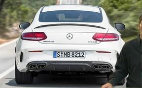 Внешний вид нового купе Mercedes AMG C63 S рассекретили до премьеры