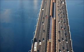 ВНИМАНИЕ! Движение на Южном мосту в Киеве снова перекрыли