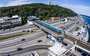ВНИМАНИЕ! Движение по Набережному шоссе в Киеве ограничено