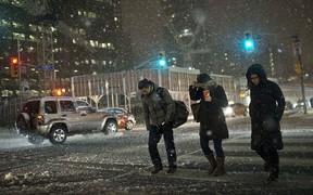 ВНИМАНИЕ! Штормовое предупреждение, ожидается мокрый снег