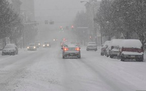 ВНИМАНИЕ! Сильные снегопады накроют большую часть Украины