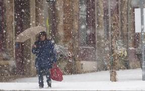 ВНИМАНИЕ! Во вторник в Киеве ожидается сильный снегопад