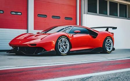 Во-первых, это красиво. Представлен уникальный Ferrari P80/C