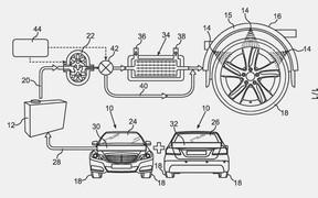 Водные процедуры: Daimler придумал новый способ охлаждения шин