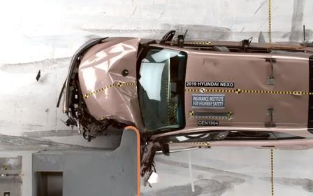 «Водородный» Hyundai Nexo попал на краш-тест. Как успехи? ВИДЕО