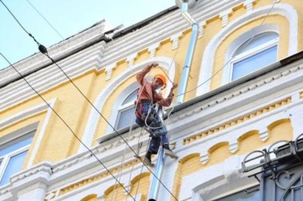 Вокруг НСК «Олимпийский» реставрировано 123 фасада