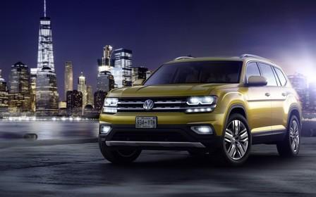 Volkswagen Atlas: Большой кроссовер представили официально