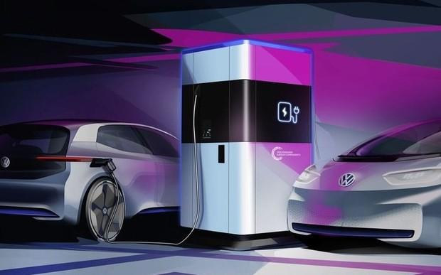Volkswagen Group починає серійне виробництво гнучкої швидкої зарядної станції