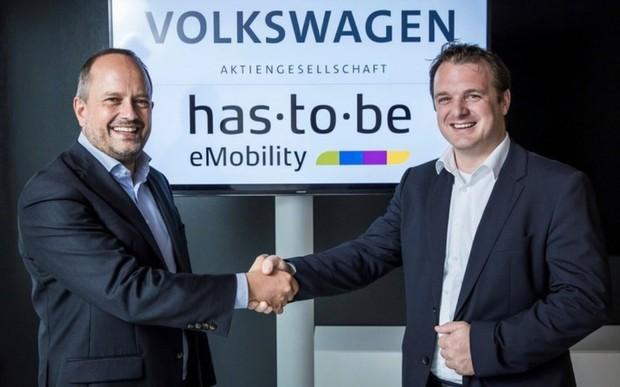 Volkswagen і експерт з програмного забезпечення has · to · be співпрацюватимуть для розширення інфраструктури зарядних станцій