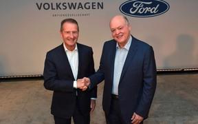 Volkswagen и Ford расширяют партнёрство