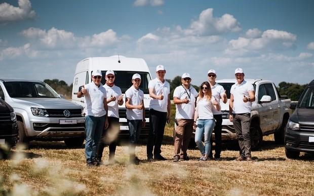 Volkswagen Комерційні автомобілі на Міжнародних днях поля 2019 в Україні