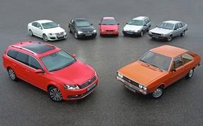 «Volkswagen Passat: 29 мільйонів за 45 років»