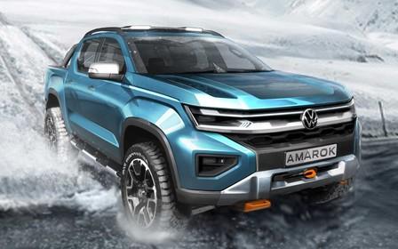 Volkswagen показал каким будет новый Amarok. На кого похож?