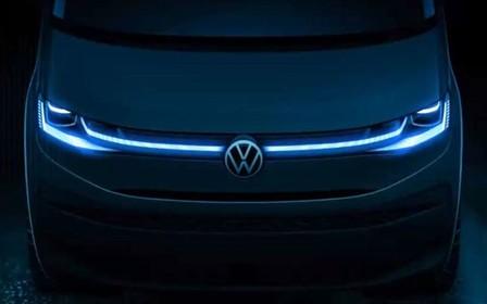Volkswagen показав перше офіційне фото Transporter T7