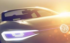 Volkswagen показал свой новый электрический кроссовер