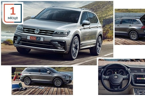 Volkswagen Polo та Tiguan Allspace визнано кращими автомобілями в номінаціях від Національної премії «Авто лідер 2019»