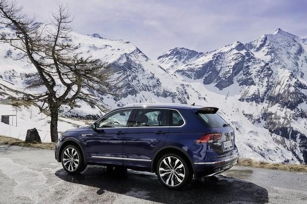 Volkswagen святкує п'ятимільйонний Tiguan