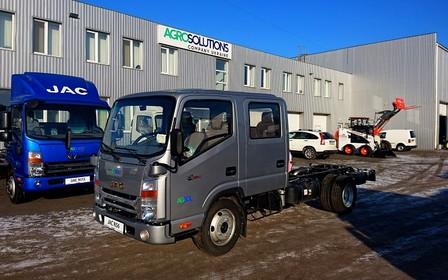 Впервые в Украине грузовик JAC с двухрядной кабиной!