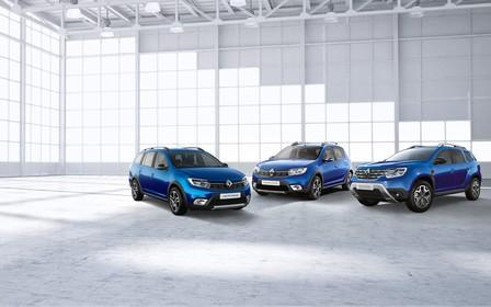 Встречайте лимитированную серию Ultramarine на бестселлеры Renault