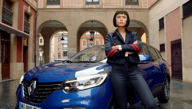 «Встречайте новое лицо Нового Renault Kadjar»