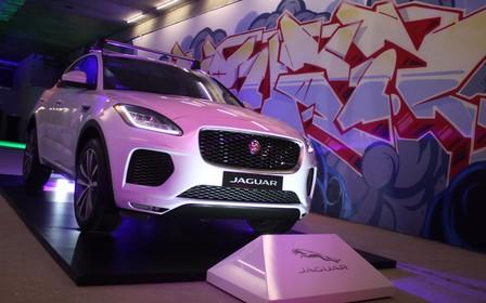 Второй кроссовер Jaguar прибыл в Украину. На очереди — электрокар