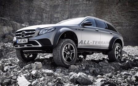 Втяни живот! Mercedes-Benz E-Class All-Terrain 4x4 прокачали