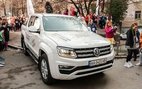VW Amarok став головим авто столичного забігу #Girlsrun