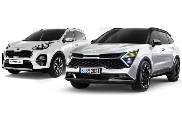 Вы этого ждали? Внешность нового Kia Sportage «прикинули» в Корее. ВИДЕО